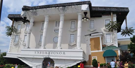 WonderWorks Pigeon Forge Tennessee